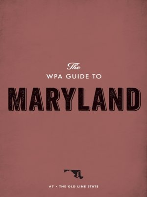 cover image of The WPA Guide to Maryland